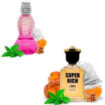 Kit 2 Perfumes Importados Coretan e Super Rich I Scents -