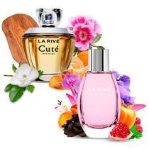 Kit 2 Perfumes Importados Cuté e L'excellente La Rive -