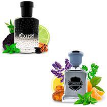 Kit 2 Perfumes Importados Excess e Conquer I Scents -