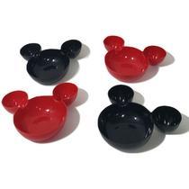 Kit 2 Petisqueiras + 4 Mini Petisqueiras Ratinho - Disney