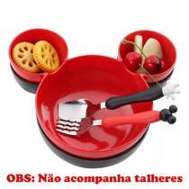 Kit 2 Petisqueiras Ratinho - Mickey E Minnie Presentes