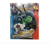 Kit 2 Pião Beyblade Metal Led Tornado Com Arena 2 Lançador - Toy King