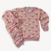 KIT 2 Pijamas SOFT de Inverno Infantil Meninas - Nininhos