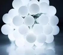 KIT 2 Pisca Pisca 40 Bolinhas Led Branco 5,5 Mts 8 funções 127/220v - Lyal