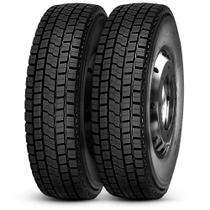 Kit 2 Pneu Durable Aro 22.5 275/80R22.5 149/146M Dr623 Borrachudo -