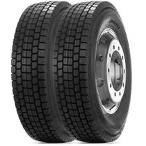 Kit 2 Pneu Durable Aro 22.5 295/80r22.5 18PR 152/148M DR755 Borrachudo -
