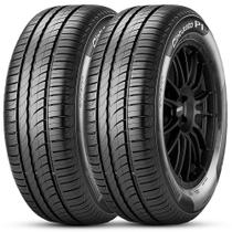 Kit 2 Pneu Pirelli Aro 15 195/55r15 85v Cinturato P1 Plus -
