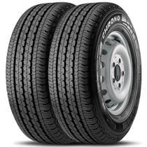 Kit 2 Pneu Pirelli Aro 16 215/75r16 113r Chrono -