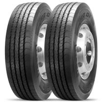 Kit 2 Pneu Pirelli Aro 19.5 285/70r19.5 146/144 L pr 16 Tl Liso FR01 -