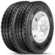 Kit 2 Pneu Pirelli Aro 22.5 275/80r22.5 149/146L M+S Plus FG01 -