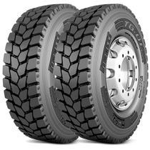 Kit 2 Pneu Pirelli Aro 22.5 275/80r22.5 149/146L M+S Tg01 -