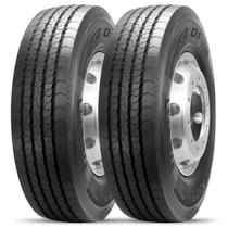 Kit 2 Pneu Pirelli Aro 22.5 275/80r22.5 149/146m Fr01 -