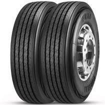 Kit 2 Pneu Pirelli Aro 22.5 275/80r22.5 149/146M FR88 Liso -