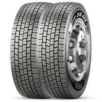 Kit 2 Pneu Pirelli Aro 22.5 275/80r22.5 149/146m TL M+S Tr01 -