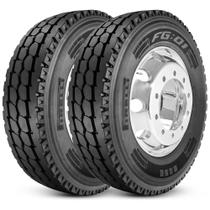 Kit 2 Pneu Pirelli Aro 22.5 295/80r22.5 152/148L M+S Plus Fg01 -