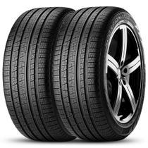 Kit 2 Pneu Pirelli Aro 255/60r18 112h Xl Scorpion Verde All Season -