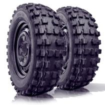 kit 2 pneu remoldado aro 15 205/60r15 4x4 off road cockstone