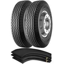 Kit 2 Pneus 1000-20 16 Lonas Ct65 Super Centauro Pirelli + Camaras - Pirelli Carga