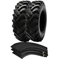 Kit 2 Pneus 12.4-24 ( 12,4-24 ) 10Pr Tubetype Tm95 Pirelli + Camaras - Pirelli Agro