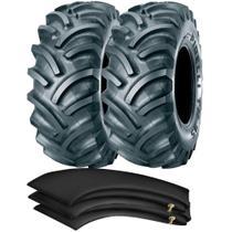 Kit 2 Pneus 18.4-34 10 Lonas R-1 Tubetype Tm95 Pirelli + Camaras - Pirelli Agro