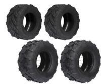 Kit 2 pneus 18x9.50 aro 8 + 2 pneus 16/ 8 aro 8 dianteiro e traseiro - Jli