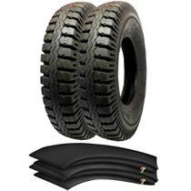 Kit 2 Pneus 900-20 Rt59 14 Lonas Marte Borrachudo Pirelli + Camaras - Pirelli Carga