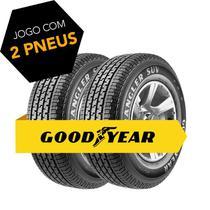 Kit 2 pneus aro 15 205/65r15 94h wrangler suv  goodyear -