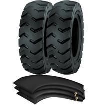 Kit 2 Pneus Empilhadeira 600-9 Ci84 12l Tt Pirelli + Camaras + Protetores - Pirelli Agro