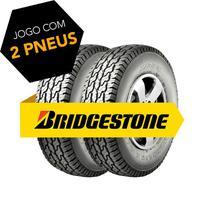 Kit 2 pneus lt255/75r15 dayton timb a/t 105/109s bridgestone -