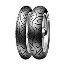 Kit  2 Pneus Moto Pirelli Sport Demon Aro 17 100/80 130/70TL -