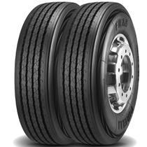Kit 2 Pneus Pirelli Aro 22.5 295/80r22.5 152/148m Fr88 -