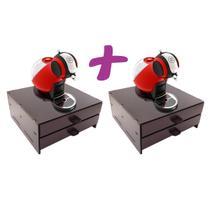 Kit 2 Porta Capsula Café Dolce Gusto 32 Capsula Reforçado - Make Laser