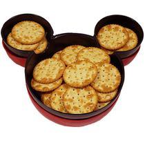 Kit 2 Pratos Infantil Ratinho - Mickey E Minnie Presentes