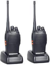 Kit 2 Radio 777s Vhf/uhf 16 Canais Comunicador Profissional - Baofeng