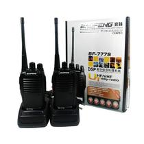 Kit 2 Radio Comunicador Walk Talk Baofeng 777s 12km 16 Can
