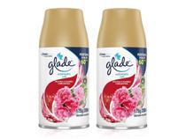 Kit 2 Refil Glade Automatic Frutas e Flores Vibrantes 269ml - Johnson
