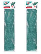 Kit 2 Refil Limpa Vidros Extensivel microfibra Flash Limp RFLP6391 -