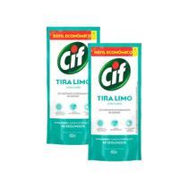 Kit 2 Refis Desinfetante Uso Geral Cif Tira-Limo 450ml -