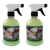 Kit 2 Repelentes Educador Sanitário para Gatos que Arranham Sofá 500g - Decore Fácil Shop