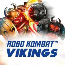 Kit 2 Robo Kombat De Batalha Vikings Com Controle Remotos - Dtc
