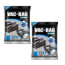 Kit 2 Sacos a Vacuo VAC BAG TRIP BAG 60X40 Ordene -