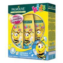 Kit 2 Shampoos + 1 Condicionador Palmolive Naturals Kids 350mL -