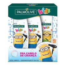 Kit  2 Shampoos Palmolive Kids Minions 350ml + Condicionador 350ml -