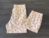 Kit 2 shorts casal mozão mauricinho patricinha estampas iguais combinando verão moda praia piscina calção banho presente - Mayamoda