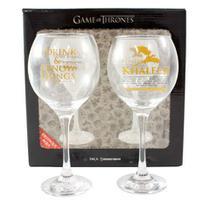Kit 2 taças vinho Game of Thrones -
