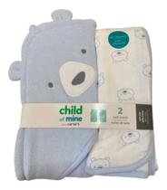 Kit 2 Toalhas Banho Carters - Child Of Mine By CarterS