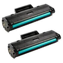 Kit 2 Toner Compatível W1105 105A  M107A M107W M135A M135W Sem Chip - PREMIUM