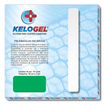 Kit 2 tratamento 90 dias - 3 fitas silicone de 35cm kelogel -