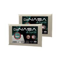 Kit 2 Travesseiros Nasa 3D Viscoelástico com mais Suporte Duoflex -