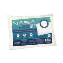 Kit 2 Travesseiros Nasa Air Viscoelástico com Ondas Massageadoras Duoflex -